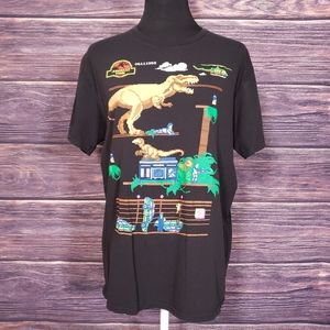 Jurassic World Pixel Tshirt